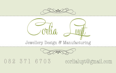 Corlia Luyt Manufacturing Jewellery