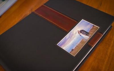 Leather cover album