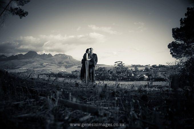 Susan & Sarel pre-wedding shoot Winelands