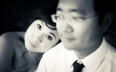 Asian China couple