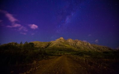 Paradyskloof, Stellenbosch at night
