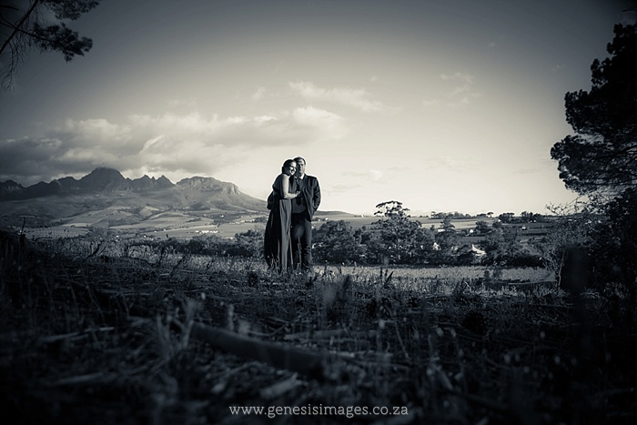 Susan & Sarel pre-wedding shoot Winelands